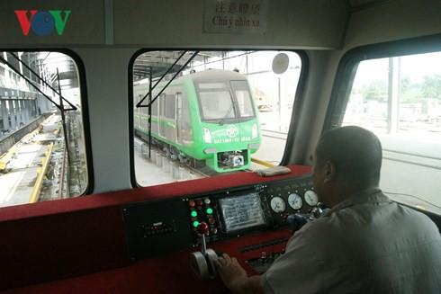 Vận hành thử toàn tuyến Metro Cát Linh – Hà Đông vào ngày 20/9 - Ảnh 1.