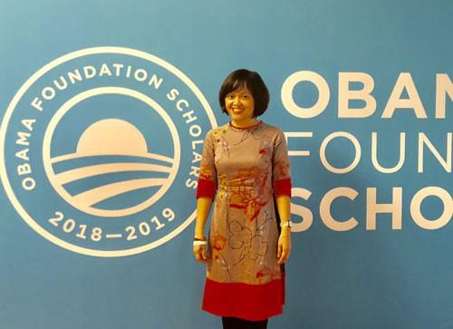 Người phụ nữ Việt Nam đầu tiên đặt chân tới Nam Cực vừa nhận được học bổng Quỹ Obama danh giá - Ảnh 3.
