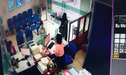 Vụ cướp ngân hàng ở Tiền Giang: Số tiền bị cướp khoảng 1 tỷ đồng - Ảnh 1.