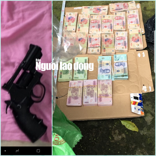 Vụ cướp ngân hàng ở Tiền Giang: Bắt đối tượng thứ 2 - Ảnh 3.