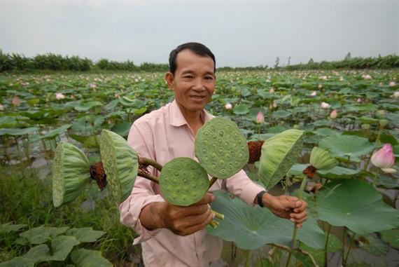 Cận cảnh thiên nhiên ban tặng người dân miền Tây nhiều sản vật trong mùa lũ đẹp - Ảnh 21.