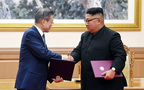 Hàn-Triều tuyên bố chấm dứt tình trạng chiến tranh - Ảnh 1.