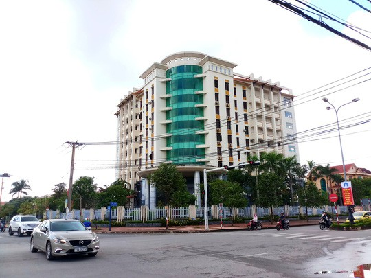 Trộm đột nhập lục lọi Sở Tài nguyên và Môi trường Quảng Bình - Ảnh 1.