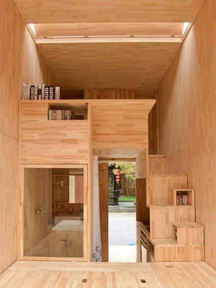 Căn nhà gỗ 7m2 siêu tiện nghi có thể có đi bất cứ đâu - Ảnh 3.