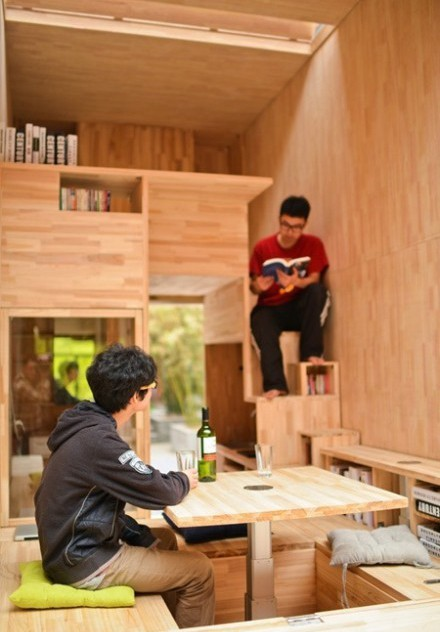 Căn nhà gỗ 7m2 siêu tiện nghi có thể có đi bất cứ đâu - Ảnh 6.