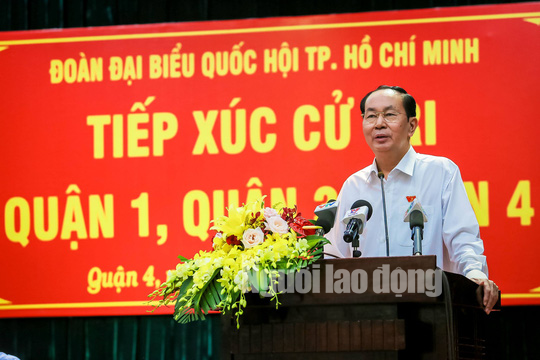 Những bức ảnh quý về Chủ tịch nước Trần Đại Quang - Ảnh 12.