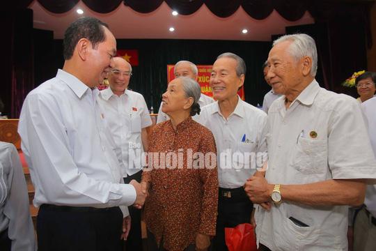 Những bức ảnh quý về Chủ tịch nước Trần Đại Quang - Ảnh 13.
