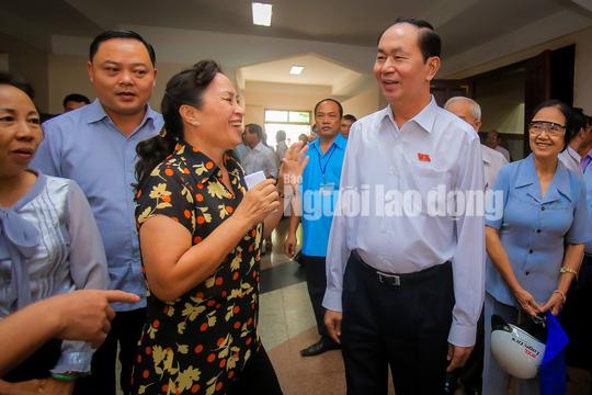 Những bức ảnh quý về Chủ tịch nước Trần Đại Quang - Ảnh 14.