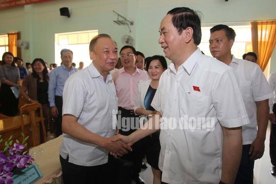 Những bức ảnh quý về Chủ tịch nước Trần Đại Quang - Ảnh 16.