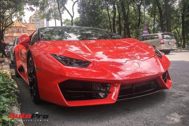 Lamborghini Huracan LP580-2 đầu tiên Việt Nam về tay đại gia Sài Gòn - Ảnh 3.