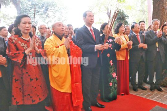 Những bức ảnh quý về Chủ tịch nước Trần Đại Quang - Ảnh 9.