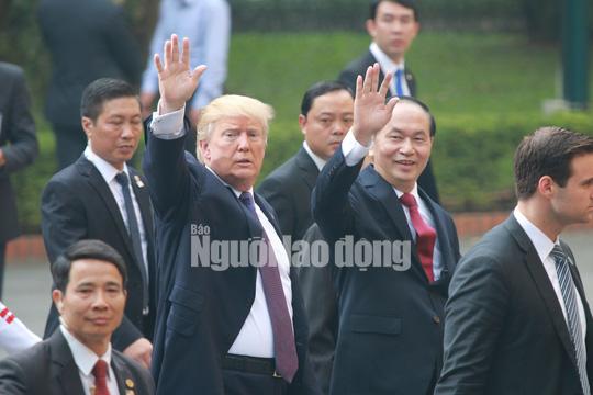 Tổng thống Donald Trump: Chủ tịch nước Trần Đại Quang là người bạn tuyệt vời của Mỹ - Ảnh 1.