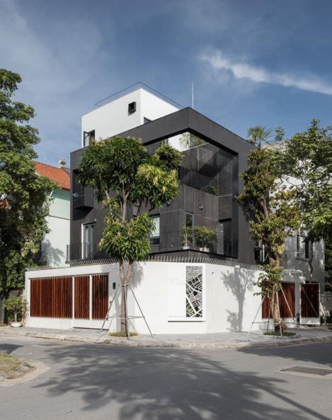 Ngôi nhà 4 tầng giữa Thủ đô đẹp lung linh trên báo Mỹ - Ảnh 2.