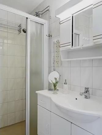 Nàng độc thân gây sốt có căn hộ chung cư nhỏ 32m2 đẹp mê ly - Ảnh 17.