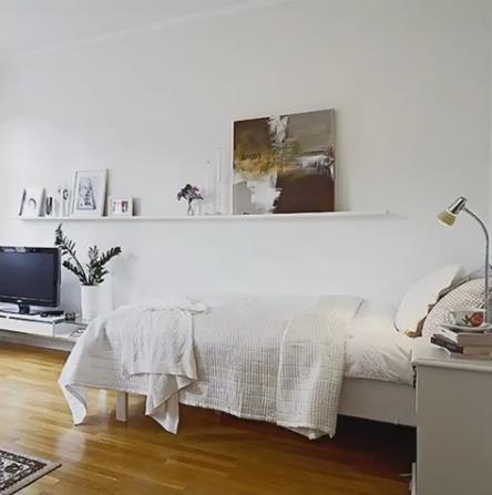 Nàng độc thân gây sốt có căn hộ chung cư nhỏ 32m2 đẹp mê ly - Ảnh 6.