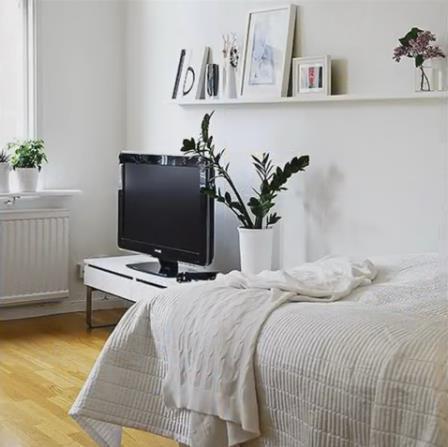 Nàng độc thân gây sốt có căn hộ chung cư nhỏ 32m2 đẹp mê ly - Ảnh 7.