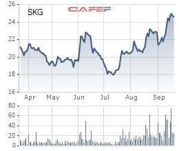 Một người có liên quan của lãnh đạo Superdong Kiên Giang muốn bán hết hơn 2 triệu cổ phiếu SKG - Ảnh 1.