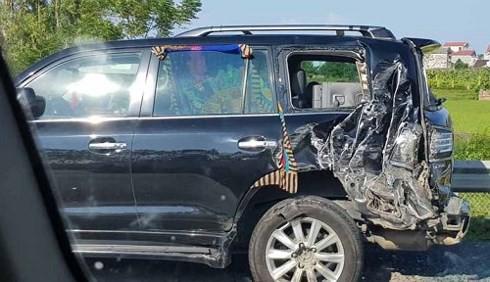 Công an Hà Nội đang điều tra vụ tài xế Lexus tử vong - Ảnh 1.