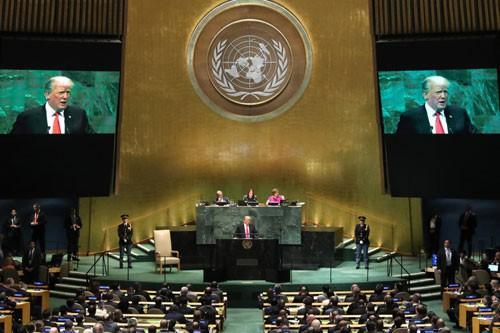 Mỹ - Iran đối đầu tại Đại Hội đồng LHQ - Ảnh 1.