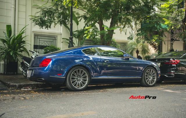 Bentley Continental GT Speed màu xanh hàng hiếm trên đường phố Hà Nội - Ảnh 4.