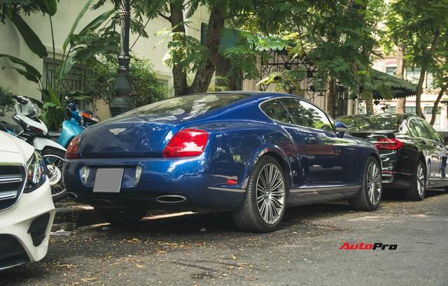 Bentley Continental GT Speed màu xanh hàng hiếm trên đường phố Hà Nội - Ảnh 5.