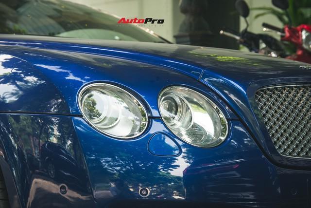 Bentley Continental GT Speed màu xanh hàng hiếm trên đường phố Hà Nội - Ảnh 6.