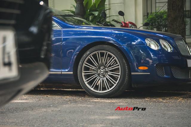 Bentley Continental GT Speed màu xanh hàng hiếm trên đường phố Hà Nội - Ảnh 7.