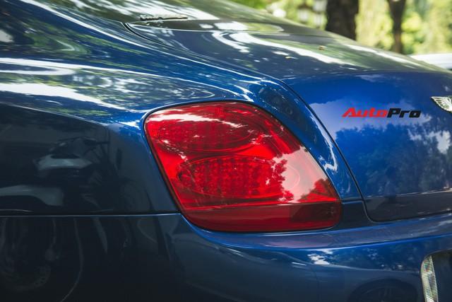 Bentley Continental GT Speed màu xanh hàng hiếm trên đường phố Hà Nội - Ảnh 9.
