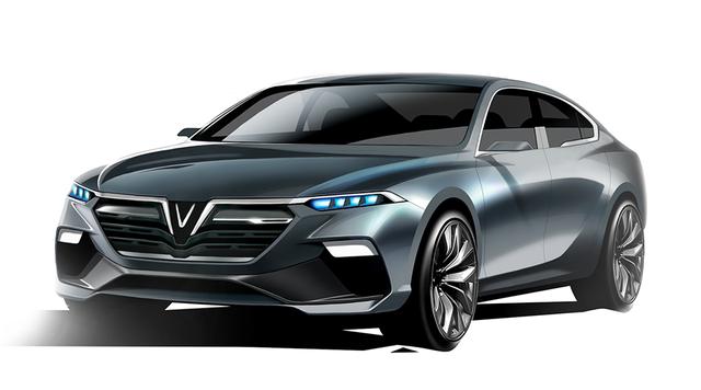 VinFast góp mặt tại Paris Motor Show 2018: Nhà sản xuất Việt Nam đầu tiên in dấu xe lên bản đồ công nghiệp chế tạo ô tô toàn cầu, sánh vai cùng Audi, Bentley, BMW… - Ảnh 1.
