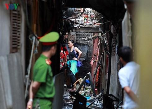 Khởi tố vụ án cháy nhà trọ khiến 2 người tử vong gần Bệnh viện Nhi Trung ương - Ảnh 1.