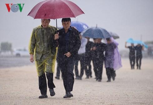 Trực tiếp: Đưa linh cữu Chủ tịch nước Trần Đại Quang về quê nhà - Ảnh 44.