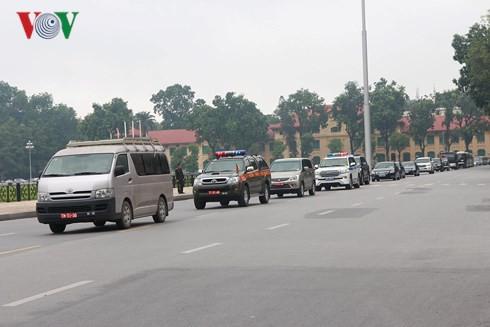 Trực tiếp: Đưa linh cữu Chủ tịch nước Trần Đại Quang về quê nhà - Ảnh 6.