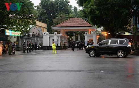 Trực tiếp: Đưa linh cữu Chủ tịch nước Trần Đại Quang về quê nhà - Ảnh 55.