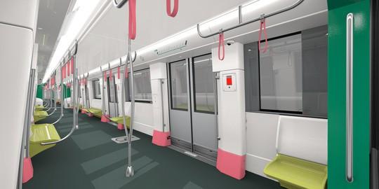 Lộ diện đoàn tàu chạy tuyến đường sắt Nhổn - ga Hà Nội cuối năm 2020 - Ảnh 2.