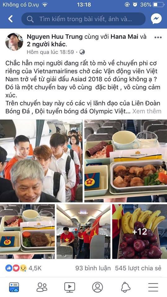 Chuyện bí mật đặc biệt sau giờ G mới kể của tiếp viên hàng không trên chuyến chuyên cơ đón đoàn Thể thao Việt Nam ngày 2/9 - Ảnh 1.