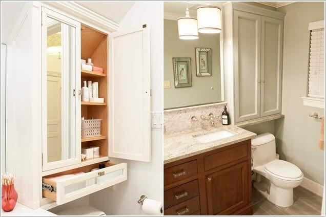 Phòng tắm chật hẹp sẽ rộng không ngờ nhờ những mẹo đơn giản này - Ảnh 7.