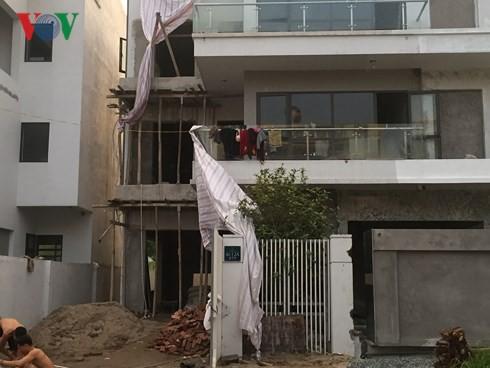 """Biệt thự """"khủng"""" phá vỡ quy hoạch những khu thành thị mới ở Hà Nội - Ảnh 1."""