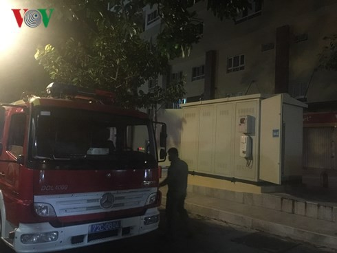 Bà Rịa – Vũng Tàu: Cháy trạm biến thế chung cư, người dân hoảng loạn - Ảnh 5.