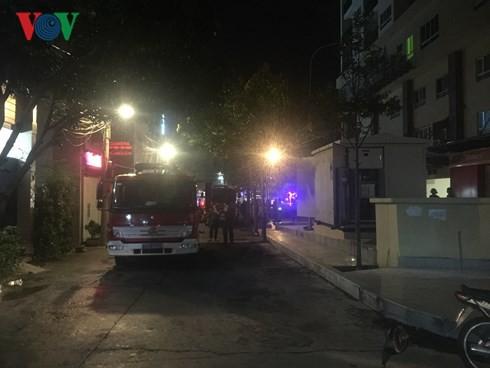 Bà Rịa – Vũng Tàu: Cháy trạm biến thế chung cư, người dân hoảng loạn - Ảnh 6.