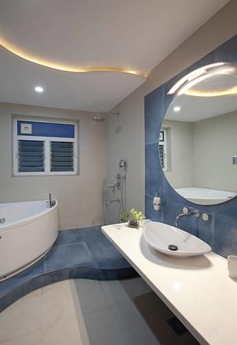 Ngôi nhà có thiết kế hiện đại, sáng tạo - Ảnh 10.