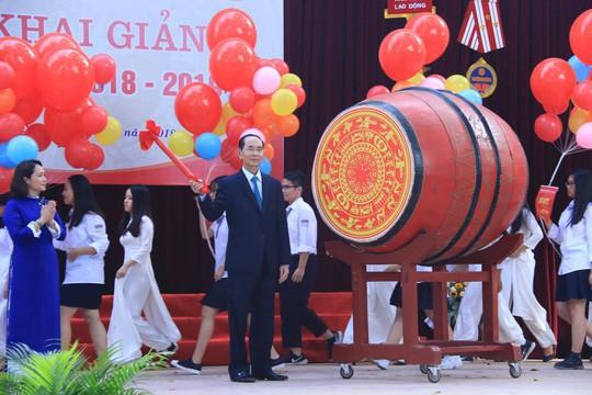 Chủ tịch nước Trần Đại Quang: Giáo dục luôn được đặt ở vị trí trung tâm - Ảnh 1.