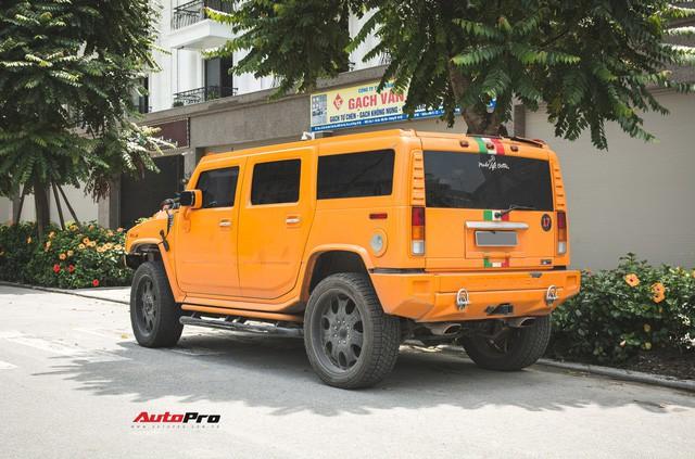 Hummer H2 màu cam độc nhất Việt Nam - Xe khủng cho dân chơi cá tính - Ảnh 11.