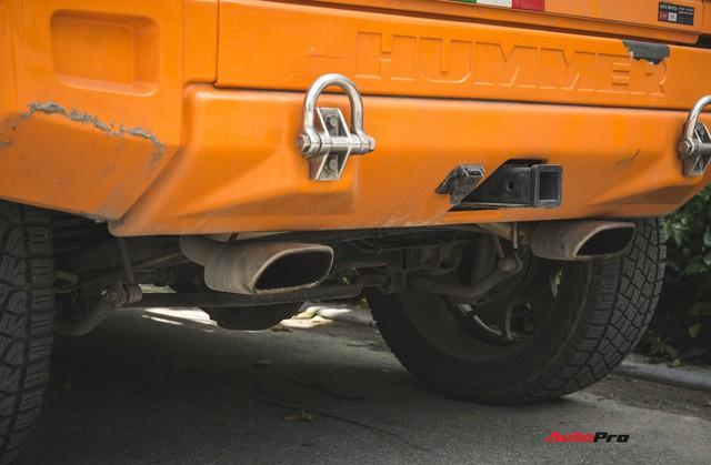 Hummer H2 màu cam độc nhất Việt Nam - Xe khủng cho dân chơi cá tính - Ảnh 14.