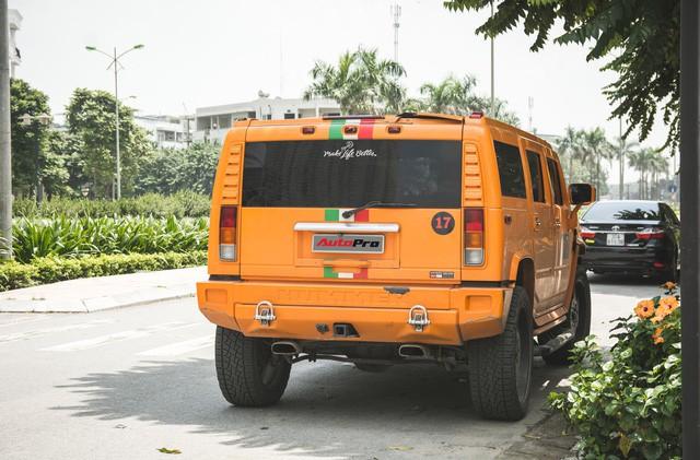 Hummer H2 màu cam độc nhất Việt Nam - Xe khủng cho dân chơi cá tính - Ảnh 15.