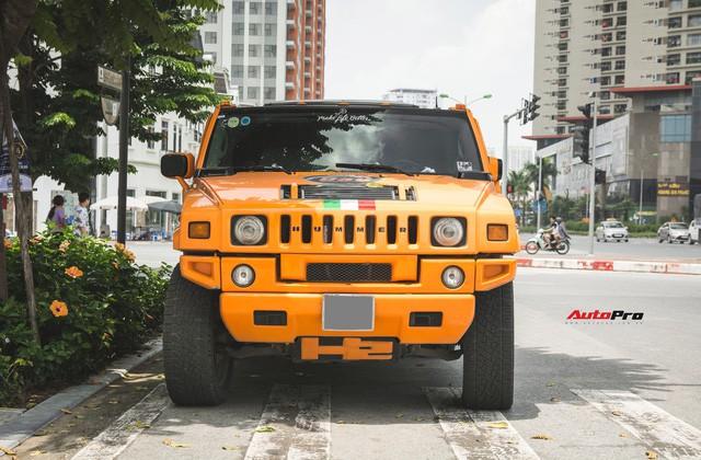 Hummer H2 màu cam độc nhất Việt Nam - Xe khủng cho dân chơi cá tính - Ảnh 2.