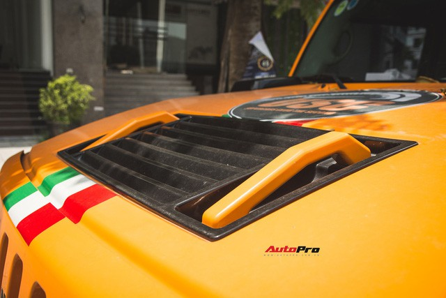 Hummer H2 màu cam độc nhất Việt Nam - Xe khủng cho dân chơi cá tính - Ảnh 4.
