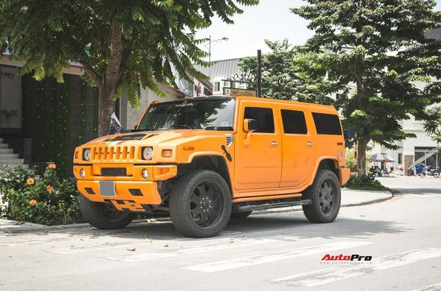 Hummer H2 màu cam độc nhất Việt Nam - Xe khủng cho dân chơi cá tính - Ảnh 5.