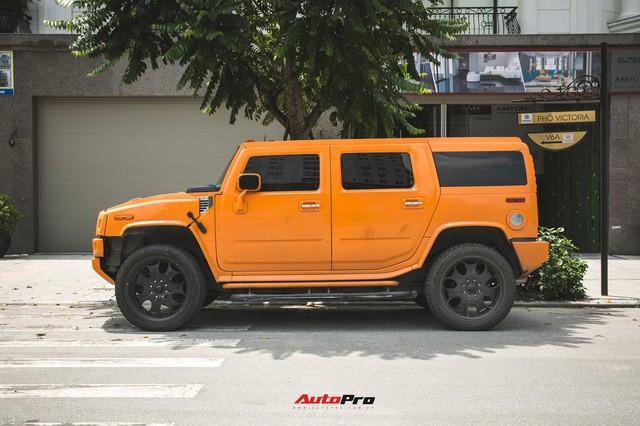 Hummer H2 màu cam độc nhất Việt Nam - Xe khủng cho dân chơi cá tính - Ảnh 7.