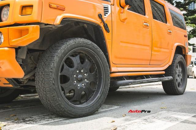 Hummer H2 màu cam độc nhất Việt Nam - Xe khủng cho dân chơi cá tính - Ảnh 9.