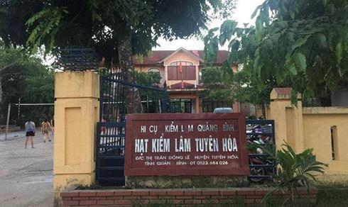 Hạt trưởng Kiểm lâm ở Quảng Bình bị đánh tại trụ sở  - Ảnh 1.